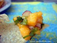 Mango Pico De Gallo--yes!