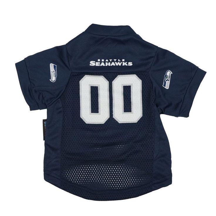 New !!! Seattle Seahawks Officially Licensed Petgear Mesh Football Jersey  #Hunter