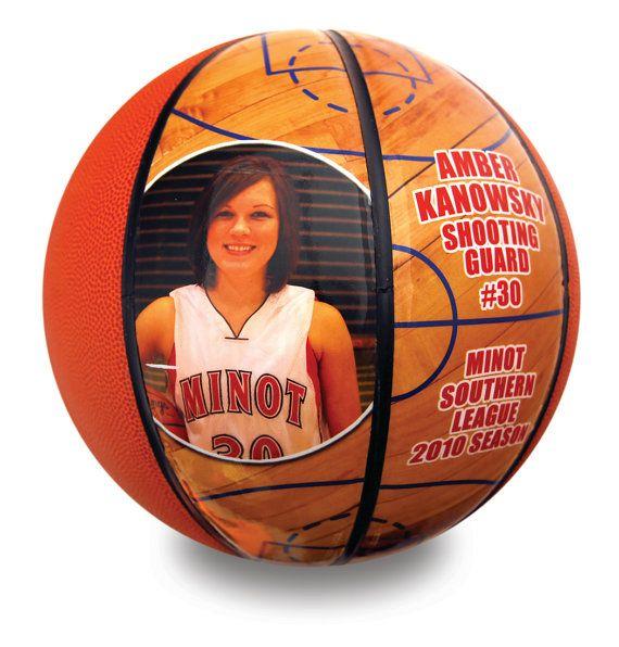 Custom Mini Basketball-Perfect For High School Senior Gift, Athletic Achievement Awards, Coaches Gift, Wedding Parties, Bar and Bat Mitzvahs