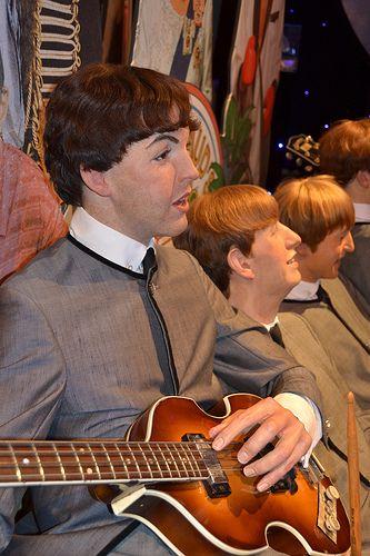Madame Tussauds - London Beatles - Paul McCartney