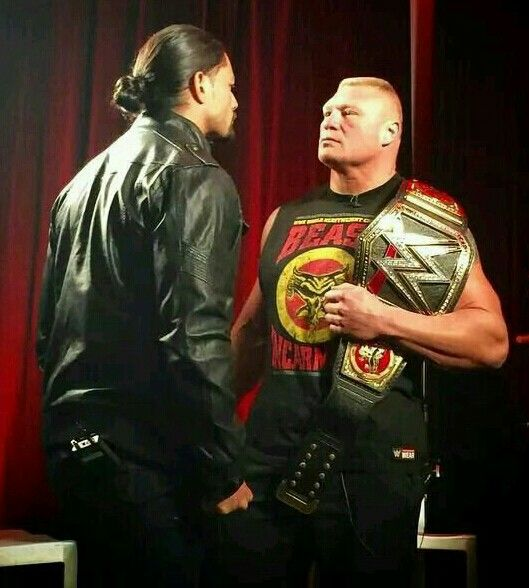 I must see this match! Roman Reigns vs Brock Lesnar for the WWE World Heavyweight Championship at WRESTLEMANIA!!!!!!