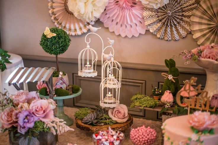 Enchanted Garden Baby Shower Party Ideas | Photo 1 of 76