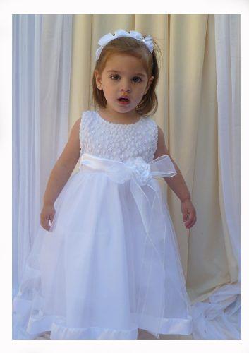 modelos de vestidos de bautizo para niña de 1 año                              …