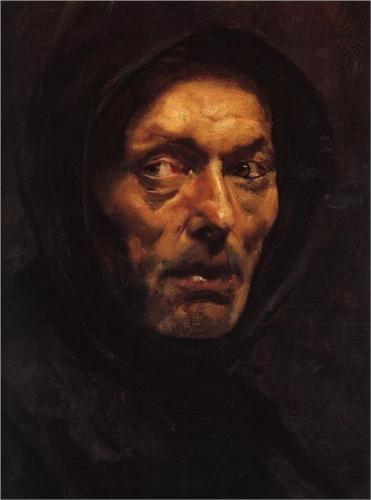 Capuchin - Nikolaos Gyzis (Greek: 1842-1901)