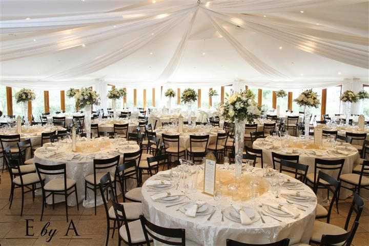 Wedding Décor - Cream and Gold  - The Secrete Garden - www.ebya.co.za