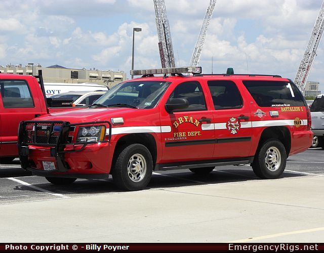 Chevrolet Suburban San Diego >> Chevrolet Suburban Command Bryan Fire Department Emergency Apparatus Fire Truck Photo | IC ...