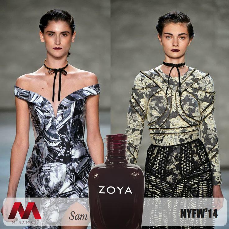 NYFW 2014'de ünlü tasarımcı Zimmermann'ın defilesinin yıldızı Zoya Sam'di.