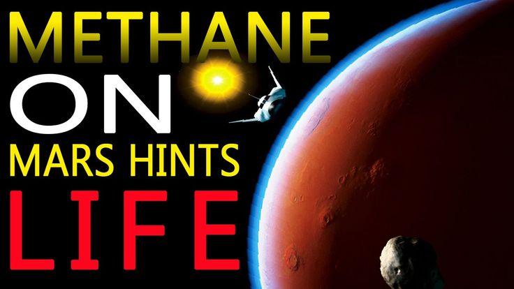 Mars Methane hints life on Mars