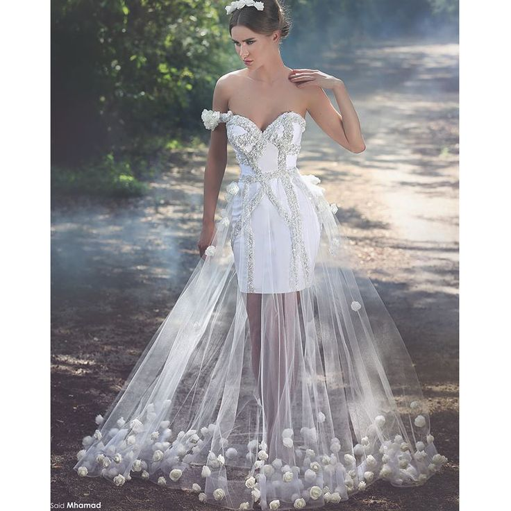 24 simple wedding dresses for elegant brides our gallery for Wedding dresses for brides over 65