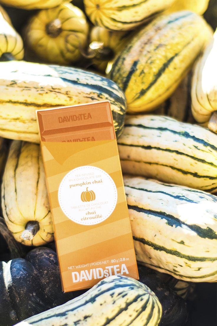#PumpkinAllTheThings is something we take very seriously.  Take your pumpkin game to the next  level and indulge in a Pumpkin Chai milk chocolate bar.  For an extra-special treat, break up some pieces and sprinkle it over a latte!