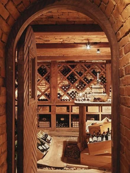 Brick Wine Cellar + Thorskogs Slott Sweden