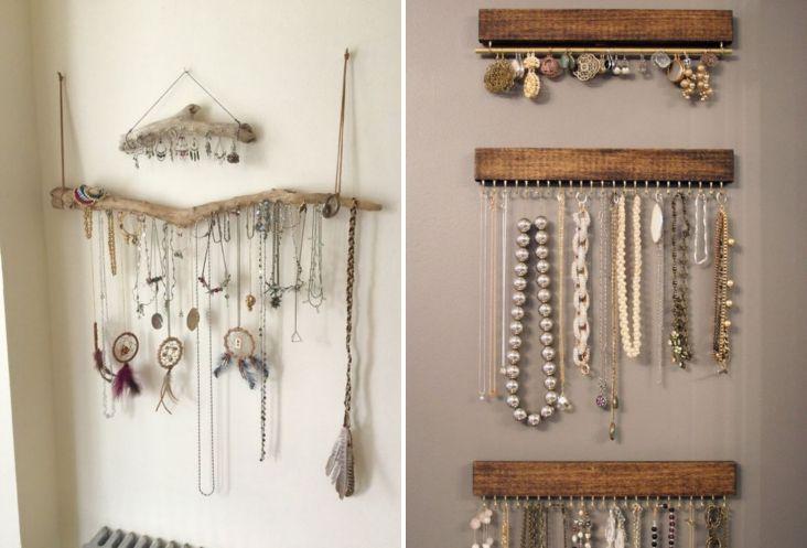 Ideas para organizar los accesorios   Decoración