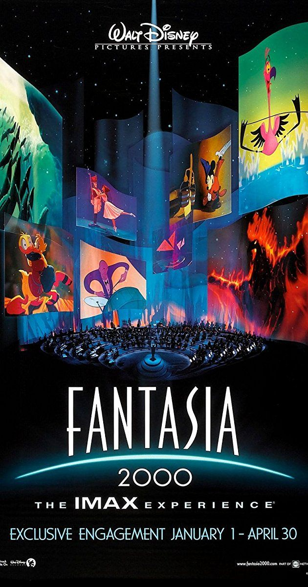 """Fantasia 2000"" (1999) - Directed by James Algar, Gaëtan Brizzi, Paul Brizzi. With James Levine, Steve Martin, Itzhak Perlman, Quincy Jones. An update of the original film with new interpretations of great works of classical music."
