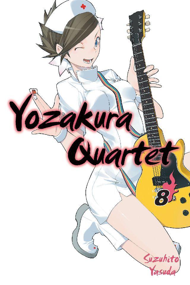 Yozakura Quartet Vol. 8 #KodanshaComics Release Date: 2/21/2017