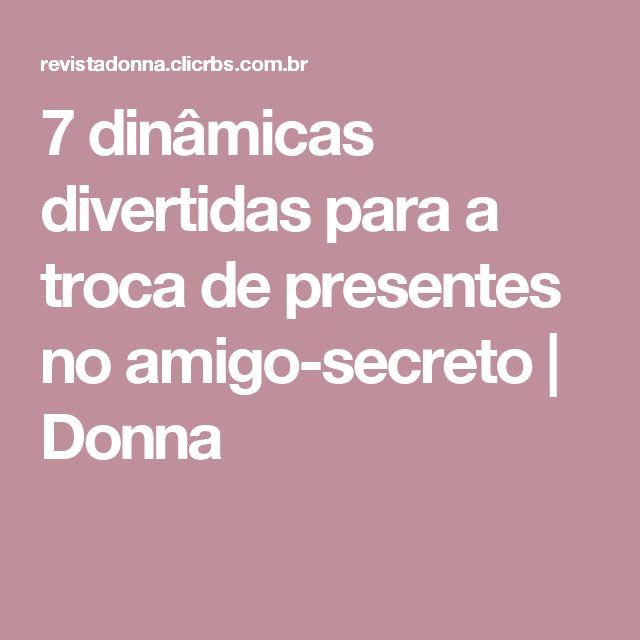 7 dinâmicas divertidas para a troca de presentes no amigo-secreto | Donna