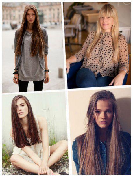 Cortes de cabello para tus 20: Largo y recto