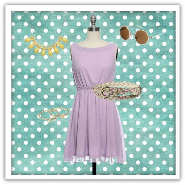 """Shine On You Crazy Lilac"" by laceaffair on Polyvore"