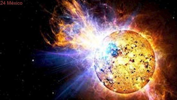 Fuerte erupción solar obliga a astronautas a refugiarse