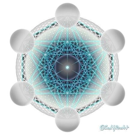 At a cellular and molecular level living things are remarkably similar.   Original from my art page: @ScottyVineArt  #MetatronsCube #SacredGeometry #FlowerOfLife #SeedOfLife #TreeOfLife #Mandala #GeometricArt #Think #Perspective #StayPositive
