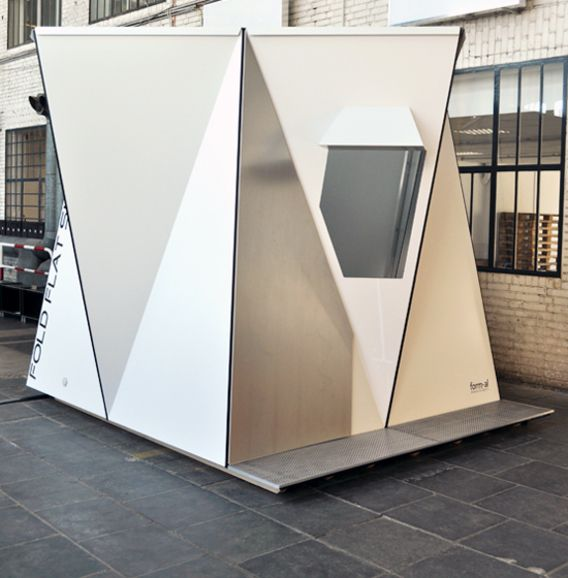 FoldFlats: Pop-Up Emergency Shelter / The Green Life <3