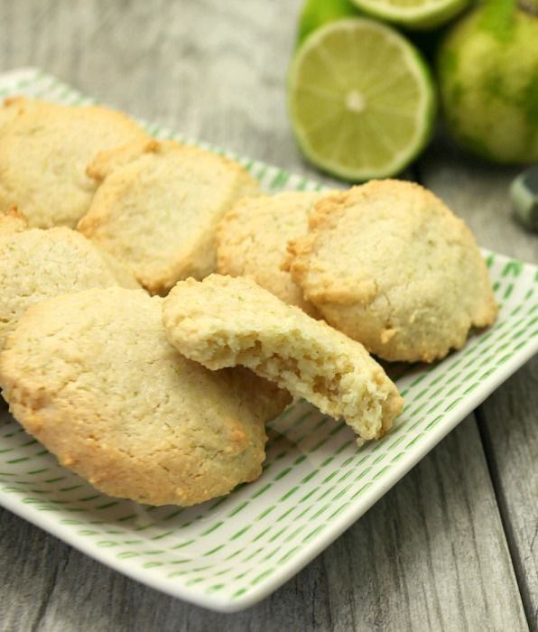 Must make today! Almond Lime Macaroons Gluten Free, Low Calorie, Low Fat Cookies