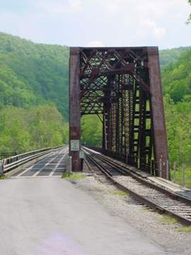 Southern West Virginias Railroads - Thurmond, WV Ghost Town