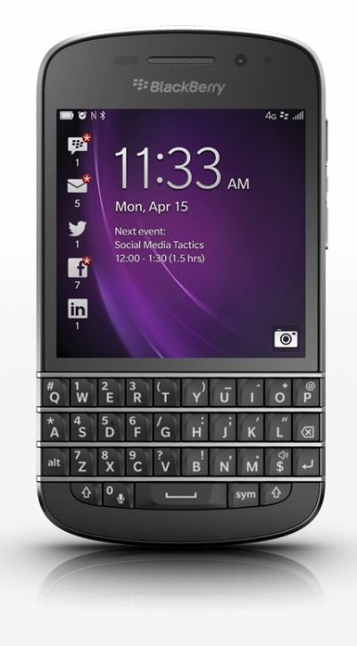 BlackBerry Q10 Photo
