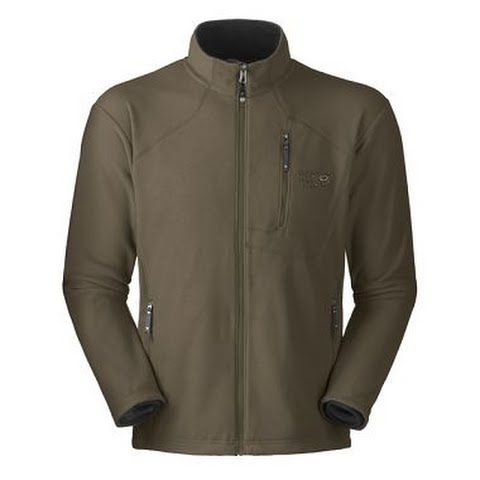 Mountain Hardwear Mens Microchill Jacket - Otter: Warm lightweight and comfortable ideal for layering. Made… #outdoorclothing #huntinggear
