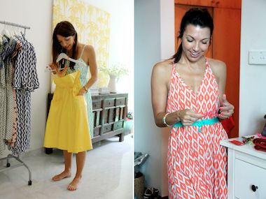 Kaitie Manani, the creative designer and founder behind Vamastyle. Her beautiful home in Singapore.