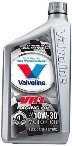 valvoline vr1 sae 10w30 racing motor oil 1 quart bottle case of 6 8223886pk you can find more