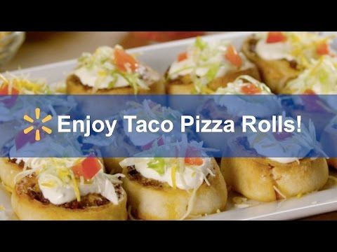Taco Pizza Rolls: Spark Up A Simple Meal In 30 Minutes Or Less! Step 1: Set oven to 400°. Step 2: Cook beef and add Old El Paso taco seasoning. Step 3: Sprea...