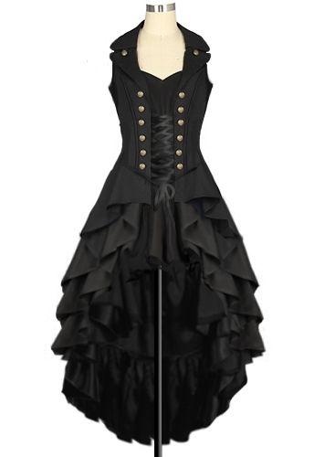 Steampunk Dress  Design by Amber Middaugh
