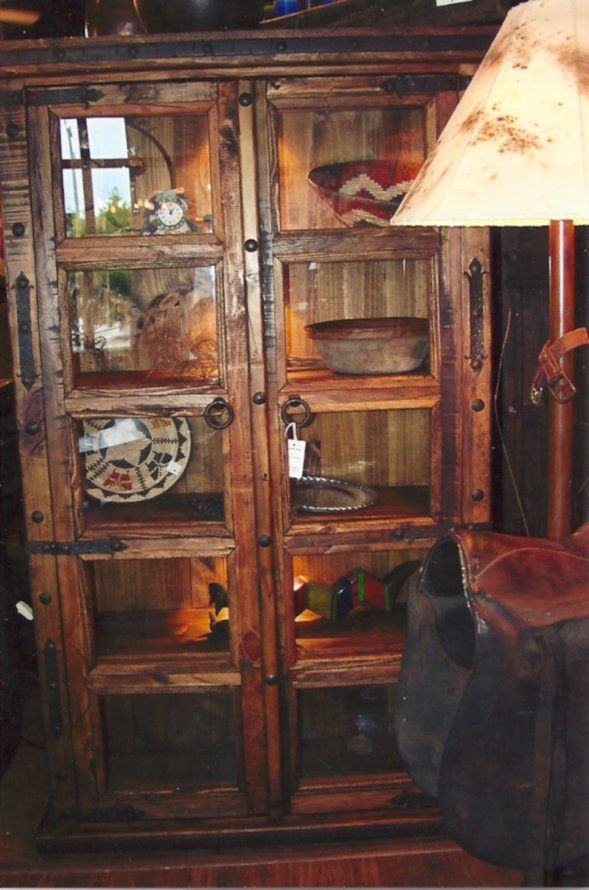rustic dining hutch | Rustic Furniture » Dining Room Furniture » Buffets, Hutches & Curio ...