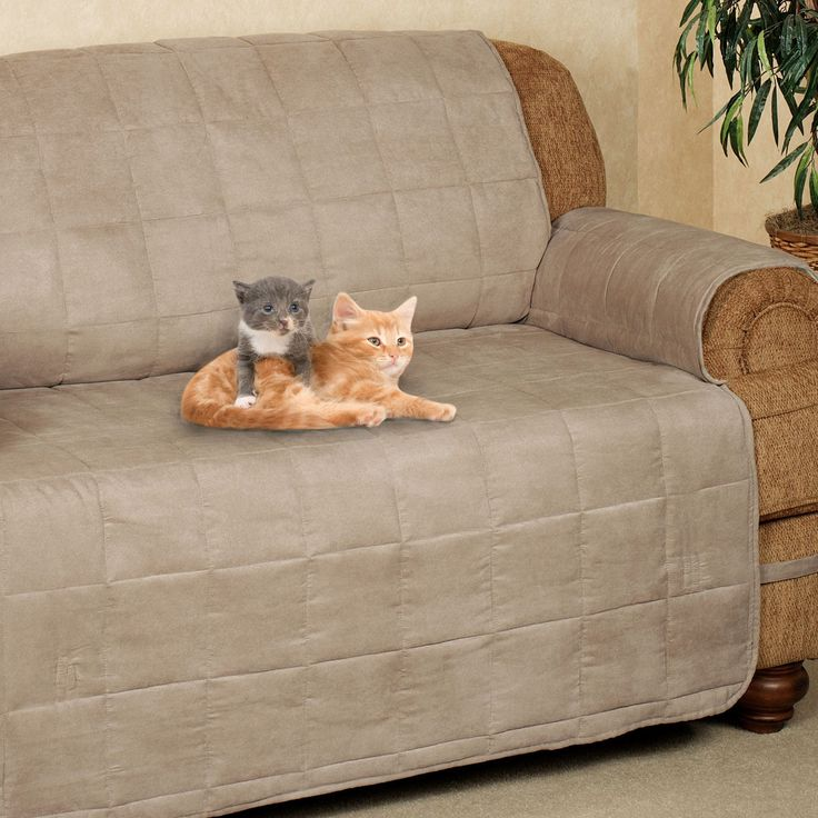 Ultimate Pet Furniture Protectors with Straps Sofa covers Long