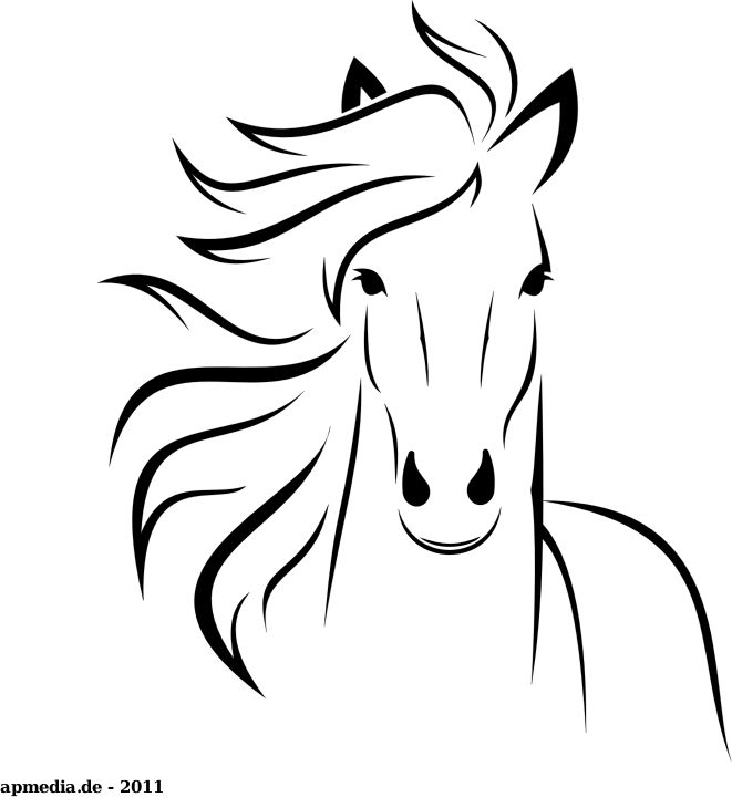 White horse by marauder just a horse made with inkscape pinterest white horses marauder and horse
