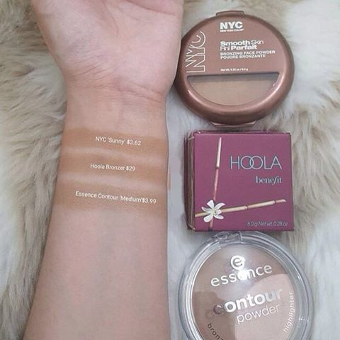 WEBSTA @ dupe_it - I found two awesome alternatives for the @benefitcosmetics 'Hoola' Bronzer: @essence_cosmetics Contour Powder