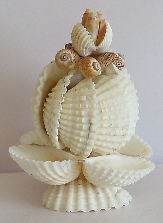 49 best images about shell craft from india on pinterest for Shell art and craft