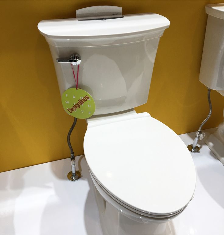 The American Standard new ActiClean self-cleaning toilet is perfect for quick and easy cleaning!