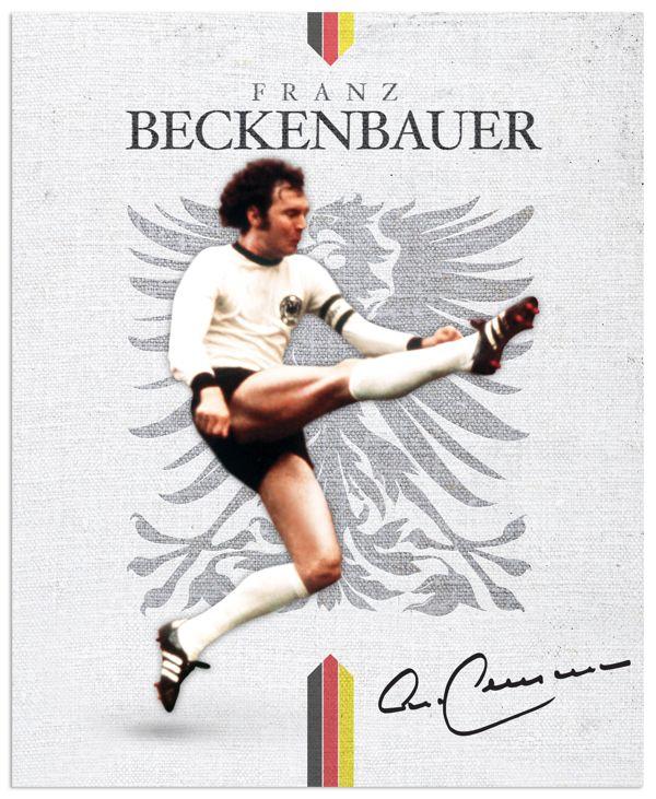 World Cup legends by Emilio Sansolini, via Behance