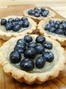 gluten-free tarts from Tula , yummy
