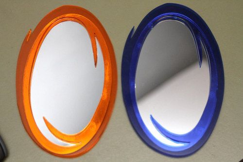 Set of Portal Mirrors from Nightmare on Craft Street