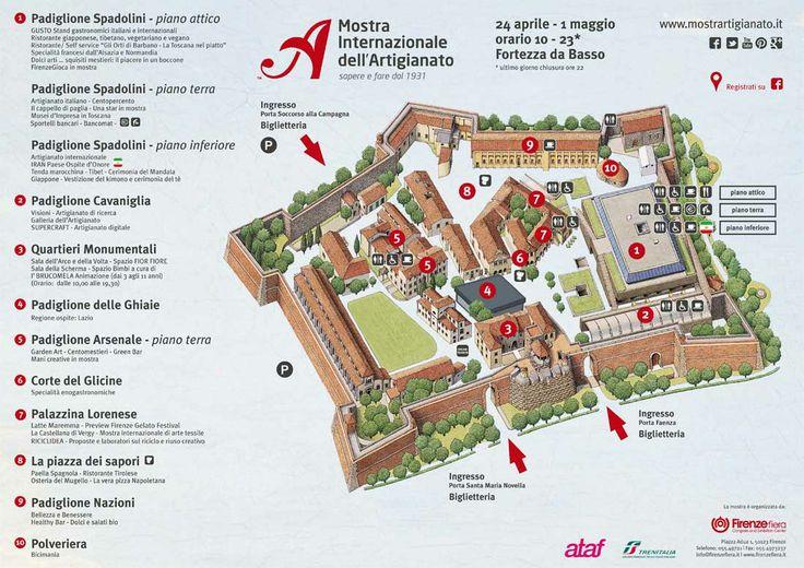 La guida completa e gratuita alla Mostra Internazionale dell'Artigianato 2014! Scaricala qui: http://bit.ly/Mappa_Fiera