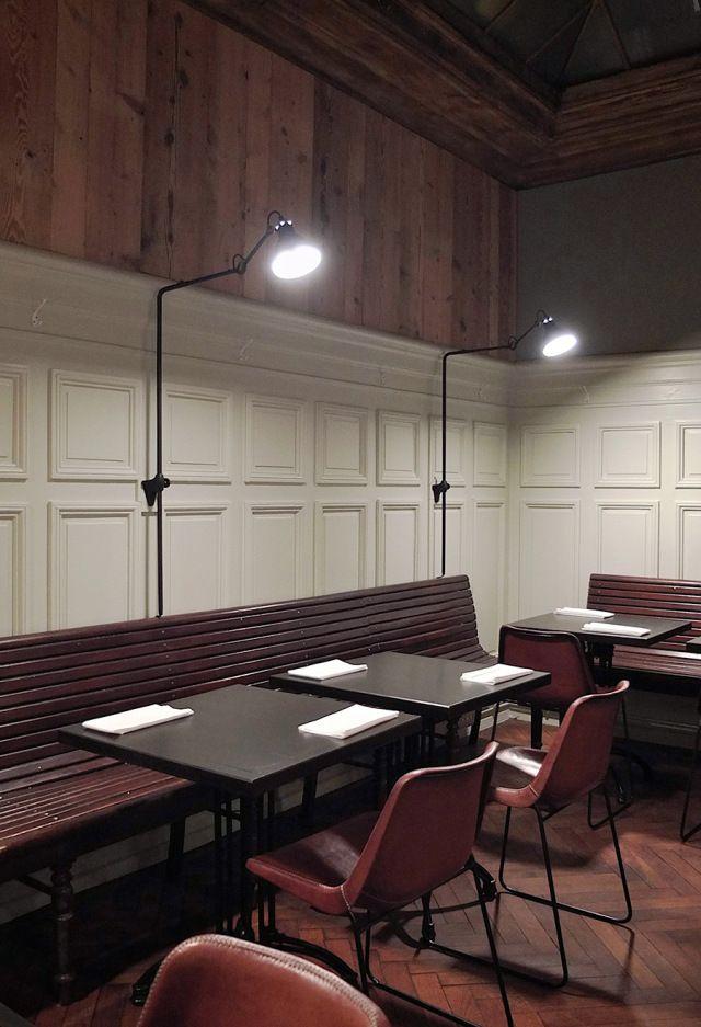 La hache restaurant by pascal claude drach strasbourg for Restaurant la cuisine limoges