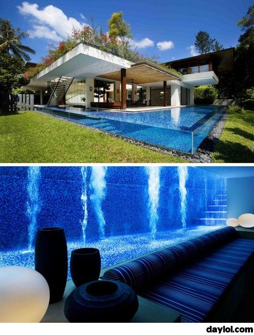 That's an awesome pool