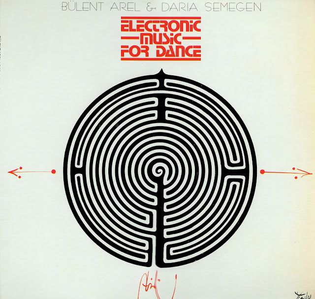 BüLent Arel & Daria Semegen - Electronic Music For Dance (Finnadar Records Sr 9020, Vinyl Lp, 1978) (Mp3 320)
