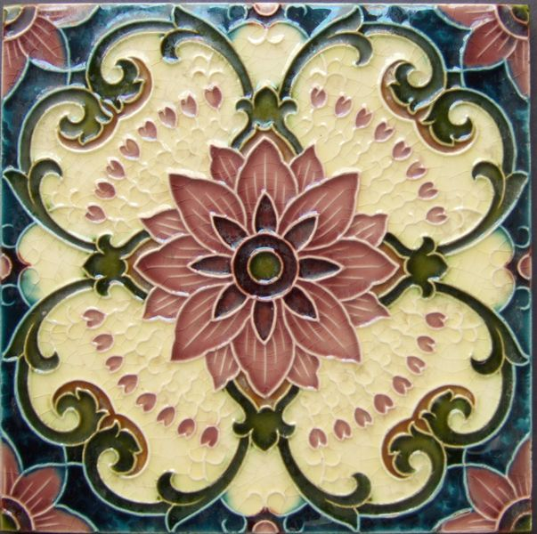 West Side Art Tiles - 4498n358p0 - English Tile>