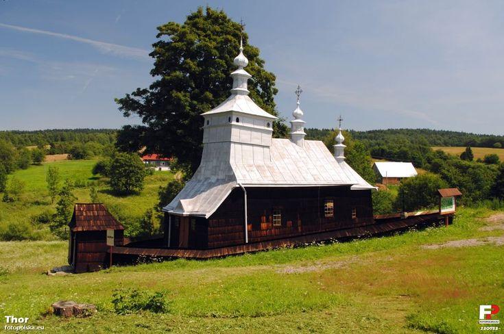 Greek Catholic church in Przysłup