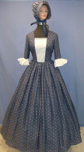 Pioneer dress this is what I want only less skirt material.