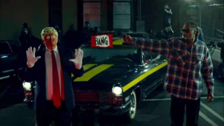 """""""The Assassination of Donald Trump"""" Depicted In New Snoop Dogg Music Video"""