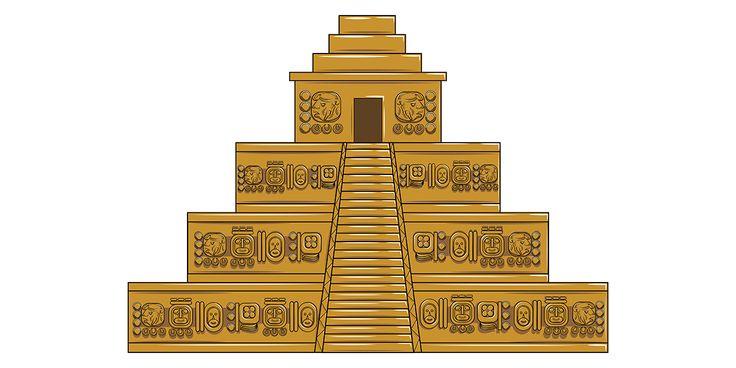 Piramide de el dorado para Parque del recuerdo.